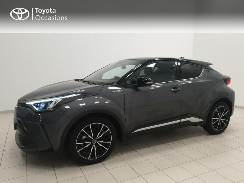 Photo 3 de l'offre de TOYOTA C-HR 122h Distinctive 2WD E-CVT MC19 à 24980€ chez Brest Automobiles - Toyota Brest