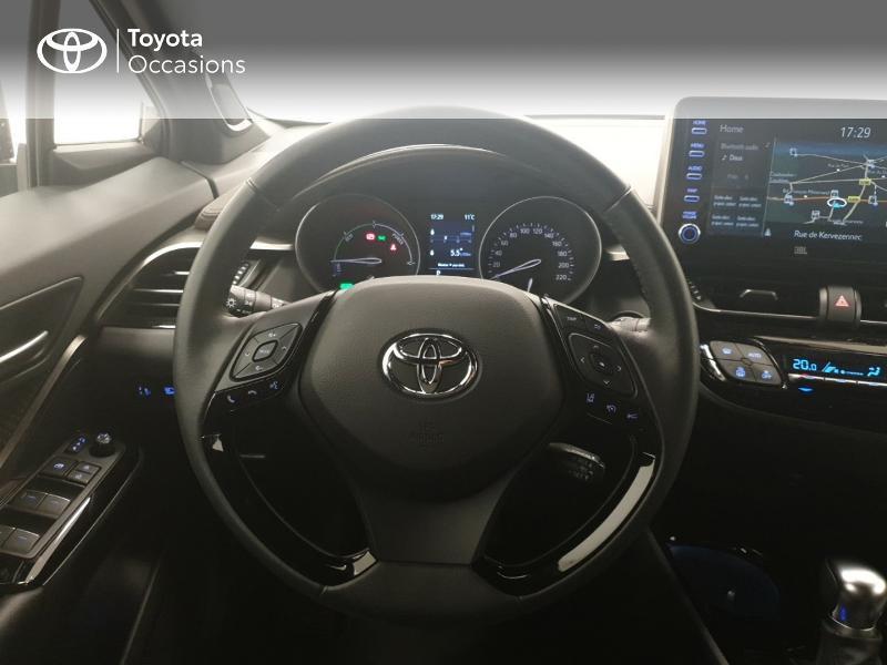 Photo 9 de l'offre de TOYOTA C-HR 122h Distinctive 2WD E-CVT MC19 à 24980€ chez Brest Automobiles - Toyota Brest