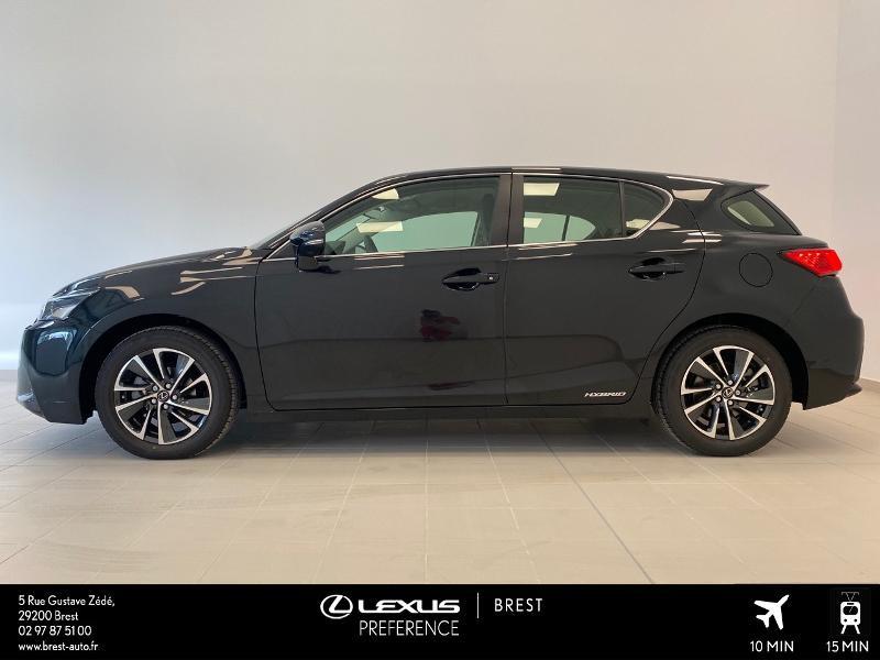Photo 3 de l'offre de LEXUS CT 200h Pack 2020 à 27690€ chez Brest Automobiles - Toyota Brest