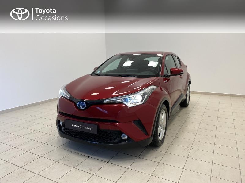 Toyota C-HR 122h Dynamic 2WD E-CVT Hybride ROUGE ALLURE Occasion à vendre