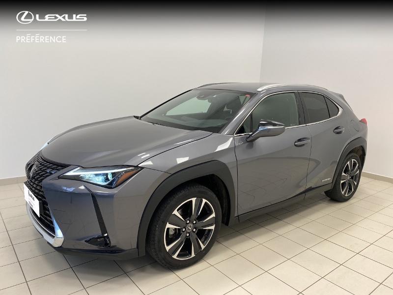 Lexus UX 250h 4WD Premium Edition MY20 Hybride gris Occasion à vendre