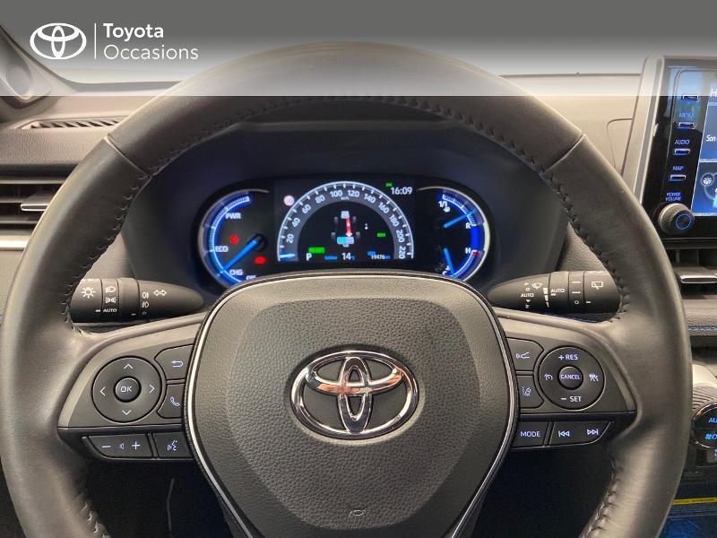 Photo 9 de l'offre de TOYOTA RAV4 Hybride 218ch Collection 2WD à 36980€ chez Brest Automobiles - Toyota Brest