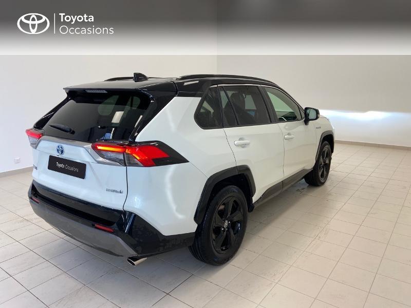 Photo 18 de l'offre de TOYOTA RAV4 Hybride 218ch Collection 2WD à 36980€ chez Brest Automobiles - Toyota Brest