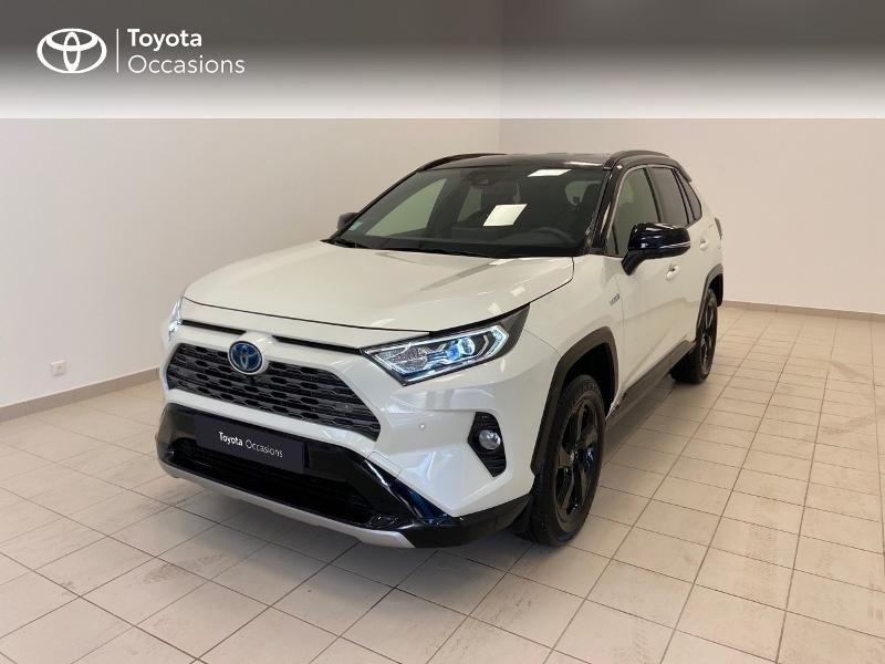 Photo 1 de l'offre de TOYOTA RAV4 Hybride 218ch Collection 2WD à 36980€ chez Brest Automobiles - Toyota Brest