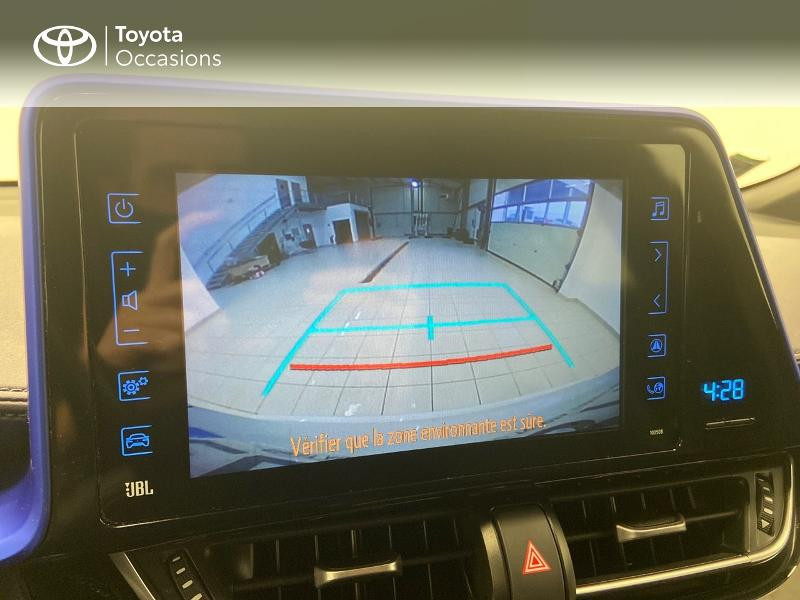 Photo 18 de l'offre de TOYOTA C-HR 122h Graphic 2WD E-CVT RC18 à 23980€ chez Brest Automobiles - Toyota Brest