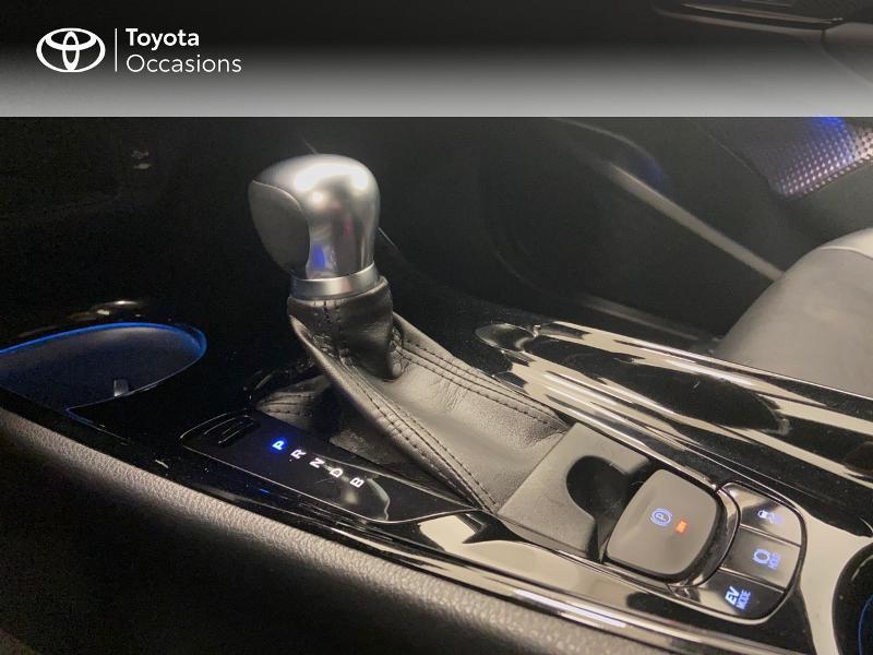 Photo 20 de l'offre de TOYOTA C-HR 122h Graphic 2WD E-CVT RC18 à 23980€ chez Brest Automobiles - Toyota Brest