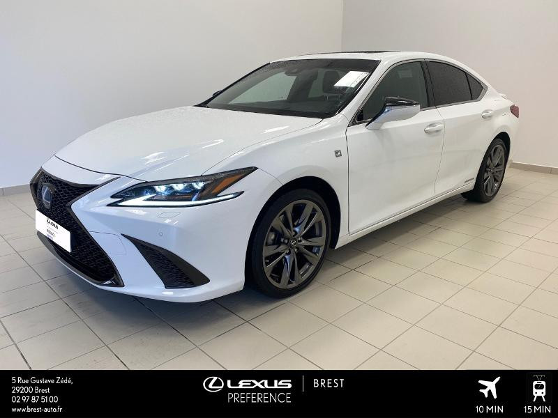 Lexus ES 300h F SPORT Executive Hybride BLANC Occasion à vendre