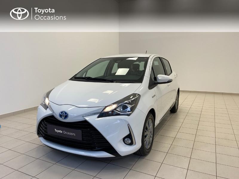 Toyota Yaris 100h Dynamic 5p Hybride BLANC PUR Occasion à vendre