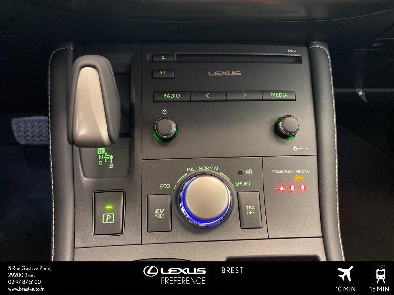 Photo 9 de l'offre de LEXUS CT 200h Pack 2020 à 27690€ chez Brest Automobiles - Toyota Brest