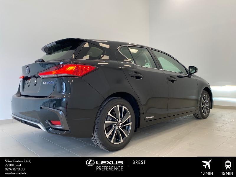 Photo 16 de l'offre de LEXUS CT 200h Pack 2020 à 27690€ chez Brest Automobiles - Toyota Brest