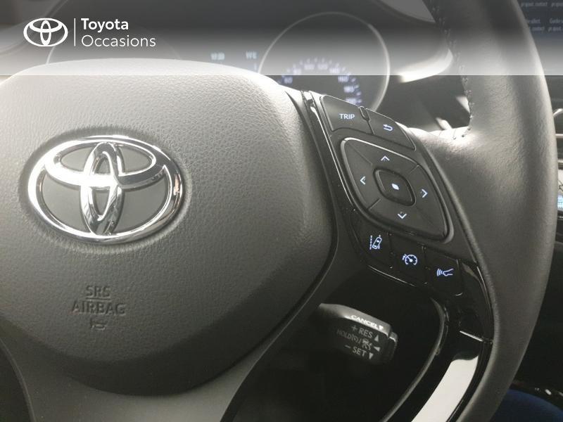 Photo 20 de l'offre de TOYOTA C-HR 122h Distinctive 2WD E-CVT MC19 à 24980€ chez Brest Automobiles - Toyota Brest