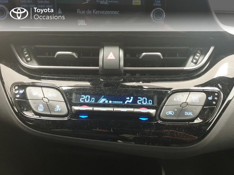 Photo 22 de l'offre de TOYOTA C-HR 122h Distinctive 2WD E-CVT MC19 à 24980€ chez Brest Automobiles - Toyota Brest