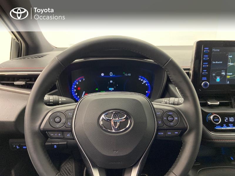 Photo 9 de l'offre de TOYOTA Corolla 122h Collection à 23980€ chez Brest Automobiles - Toyota Brest