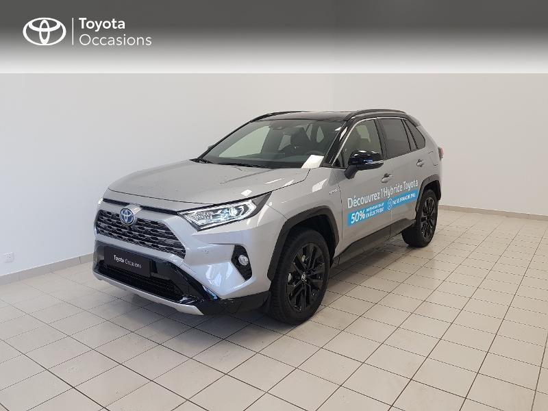 Toyota RAV4 Hybride 218ch Collection 2WD MY21 Hybride BI-TON GRIS ACIER Occasion à vendre