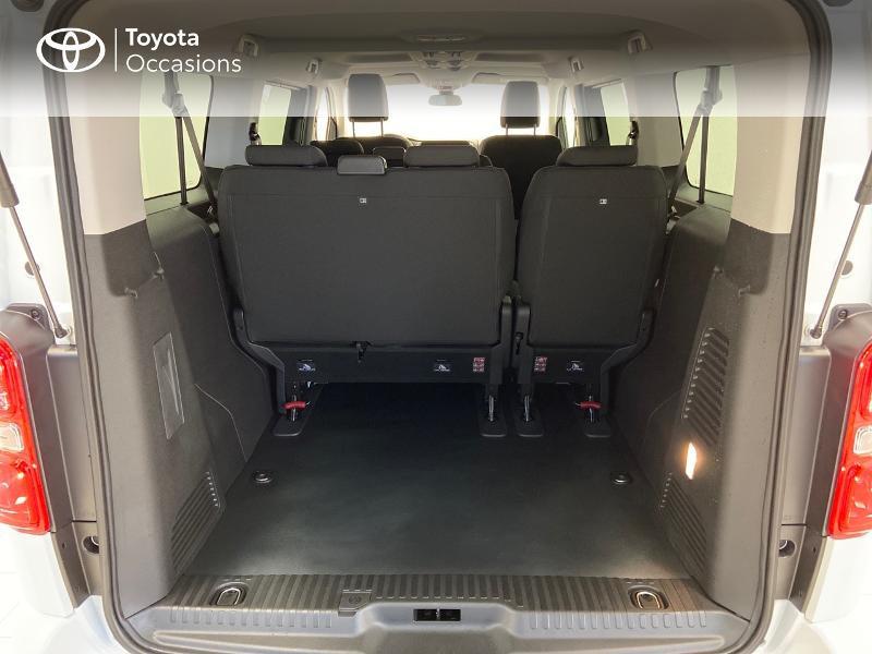 Photo 10 de l'offre de TOYOTA PROACE Verso Long 1.5 120 D-4D Dynamic MY20 à 32980€ chez Brest Automobiles - Toyota Brest