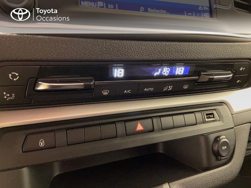 Photo 17 de l'offre de TOYOTA PROACE Verso Long 1.5 120 D-4D Dynamic MY20 à 32980€ chez Brest Automobiles - Toyota Brest