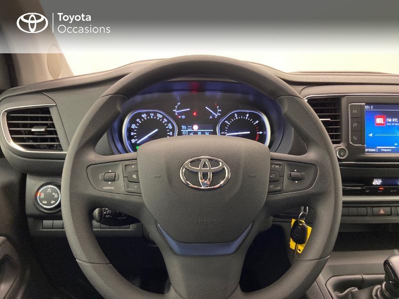 Photo 9 de l'offre de TOYOTA PROACE Verso Long 1.5 120 D-4D Dynamic MY20 à 32980€ chez Brest Automobiles - Toyota Brest