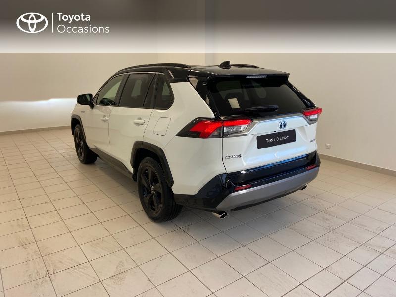 Photo 2 de l'offre de TOYOTA RAV4 Hybride 218ch Collection 2WD à 36980€ chez Brest Automobiles - Toyota Brest