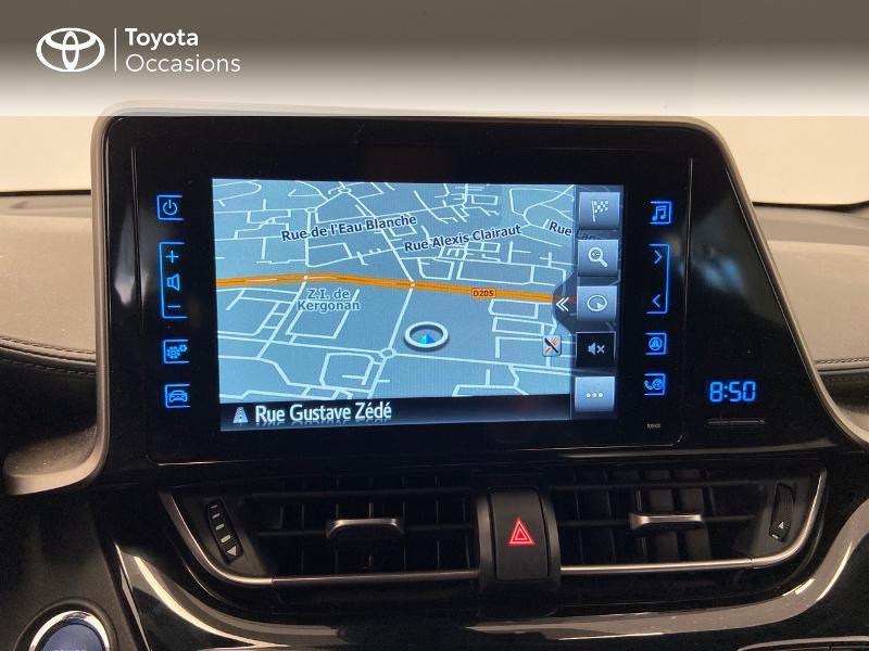 Photo 7 de l'offre de TOYOTA C-HR 122h Edition 2WD E-CVT à 20980€ chez Brest Automobiles - Toyota Brest