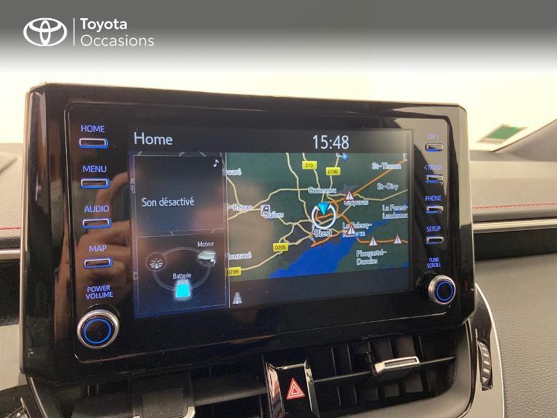 Photo 14 de l'offre de TOYOTA Corolla 122h Collection à 23980€ chez Brest Automobiles - Toyota Brest