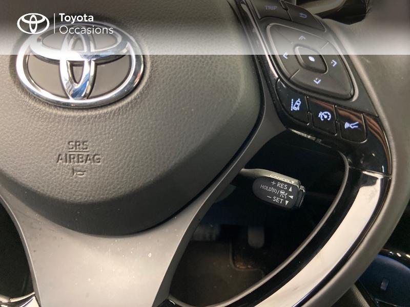 Photo 10 de l'offre de TOYOTA C-HR 122h Edition 2WD E-CVT à 20980€ chez Brest Automobiles - Toyota Brest