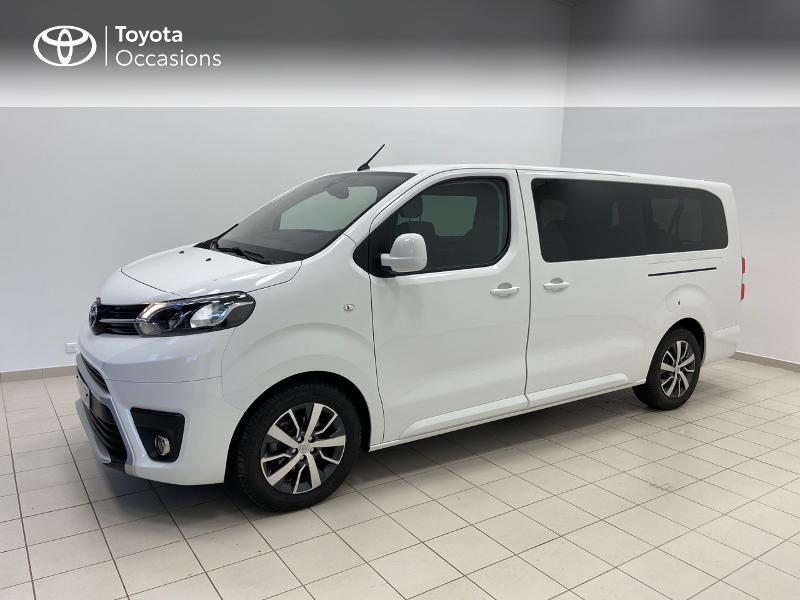 Photo 3 de l'offre de TOYOTA PROACE Verso Long 1.5 120 D-4D Dynamic MY20 à 32980€ chez Brest Automobiles - Toyota Brest
