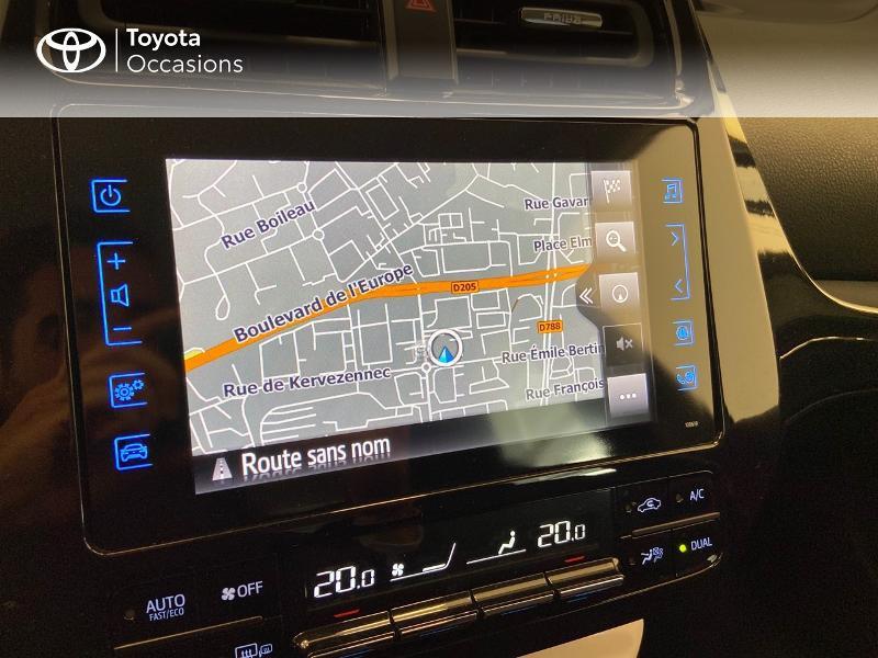 Photo 18 de l'offre de TOYOTA Prius Rechargeable 122h Solar à 22980€ chez Brest Automobiles - Toyota Brest