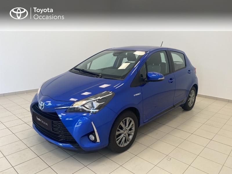 Toyota Yaris 100h Dynamic 5p MY19 Hybride BLEU NEBULA Occasion à vendre