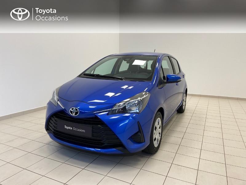 Toyota Yaris 70 VVT-i France Connect 5p MY19 Essence BLEU Occasion à vendre