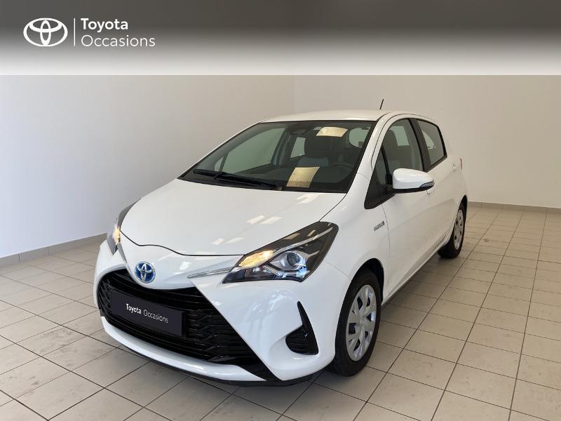 Toyota Yaris 100h France 5p RC18 Hybride BLANC PUR Occasion à vendre
