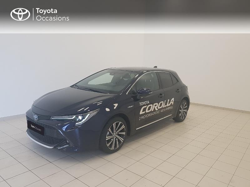 Toyota Corolla 122h Design MY21 Hybride BLEU DE PRUSSE Occasion à vendre