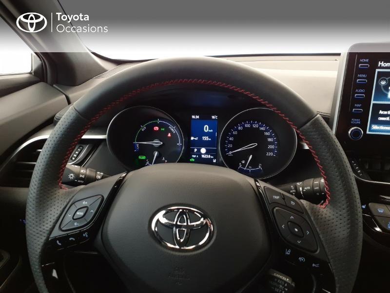 Photo 13 de l'offre de TOYOTA C-HR 184h GR-Sport 2WD E-CVT MY20 à 32980€ chez Brest Automobiles - Toyota Brest