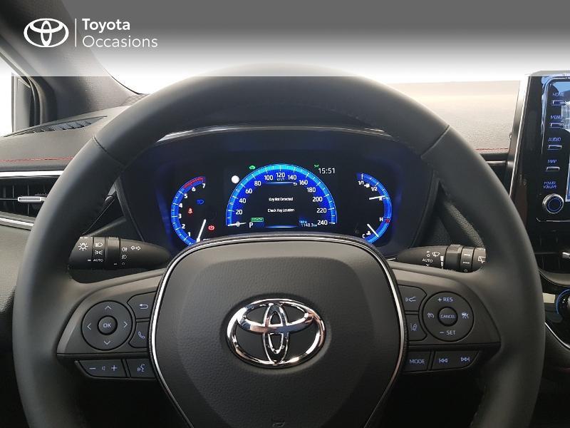Photo 13 de l'offre de TOYOTA Corolla 122h Collection MY20 à 27490€ chez Brest Automobiles - Toyota Brest