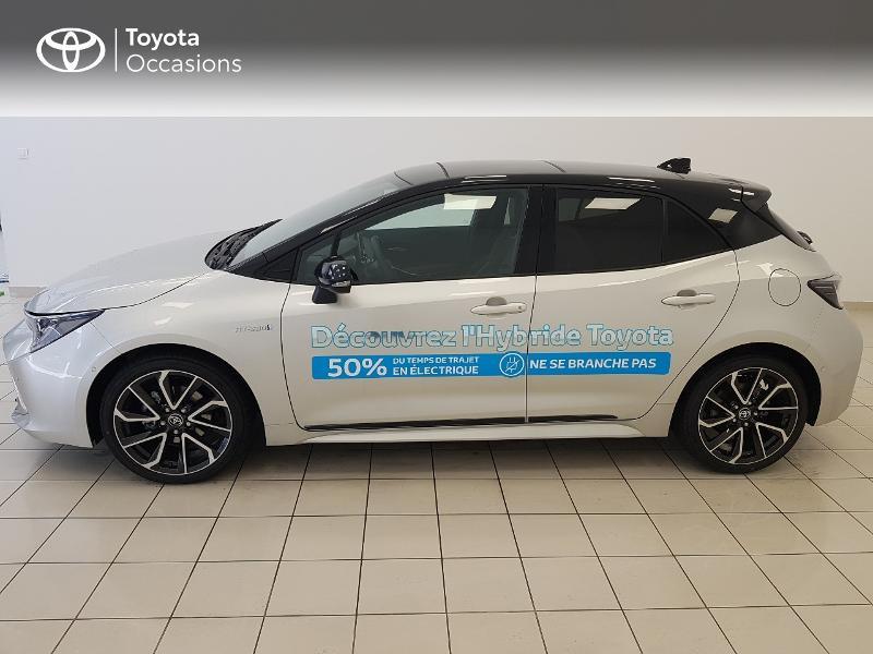 Photo 3 de l'offre de TOYOTA Corolla 122h Collection MY20 à 27490€ chez Brest Automobiles - Toyota Brest