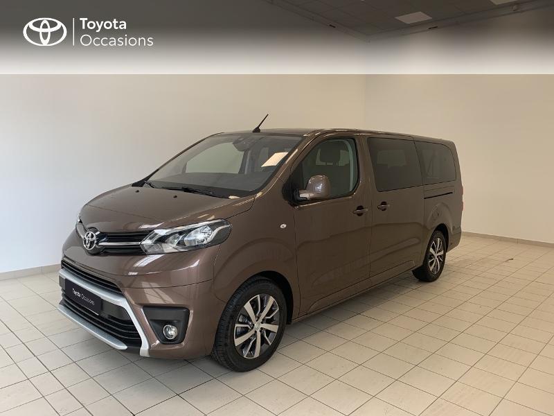 Toyota PROACE Verso Long 1.5 120 D-4D Dynamic RC21 Diesel marron Occasion à vendre