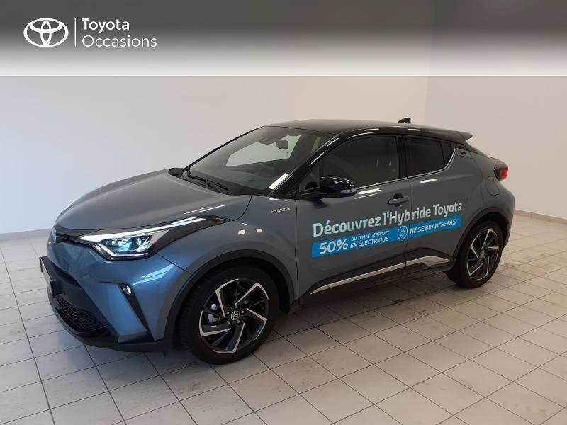 Photo 3 de l'offre de TOYOTA C-HR 122h Graphic 2WD E-CVT MC19 à 28980€ chez Brest Automobiles - Toyota Brest