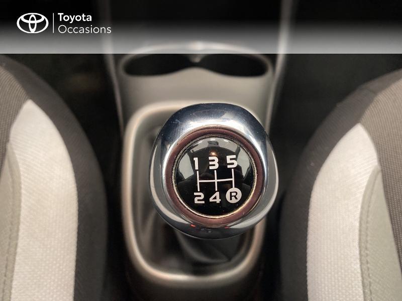 Photo 23 de l'offre de TOYOTA Aygo 1.0 VVT-i 69ch x-play 5p à 9480€ chez Brest Automobiles - Toyota Brest