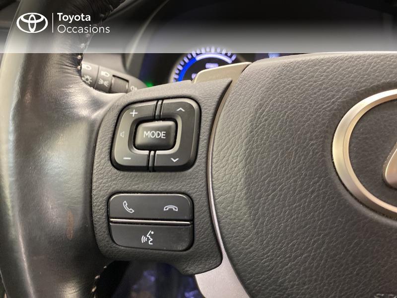 Photo 20 de l'offre de LEXUS NX 300h 2WD Pack Business à 27480€ chez Brest Automobiles - Toyota Brest