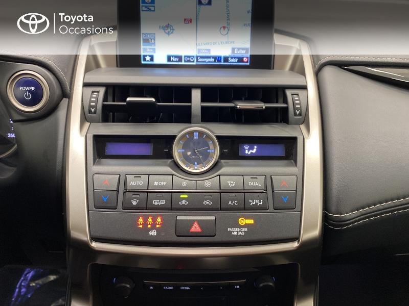 Photo 22 de l'offre de LEXUS NX 300h 2WD Pack Business à 27480€ chez Brest Automobiles - Toyota Brest