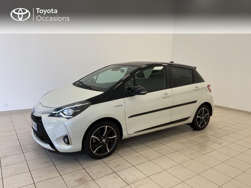 Photo 3 de l'offre de TOYOTA Yaris 100h Collection 5p MY19 à 15980€ chez Brest Automobiles - Toyota Brest