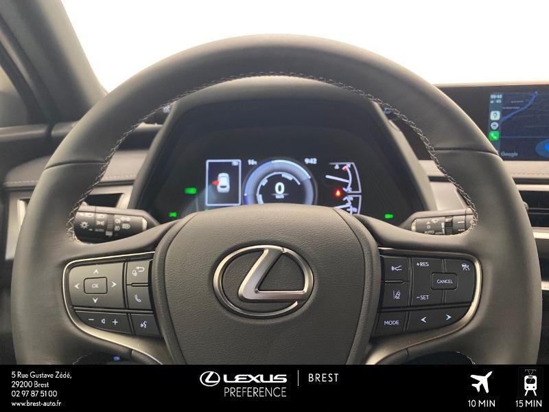 Photo 8 de l'offre de LEXUS UX 250h 2WD Luxe MY20 à 37980€ chez Brest Automobiles - Toyota Brest