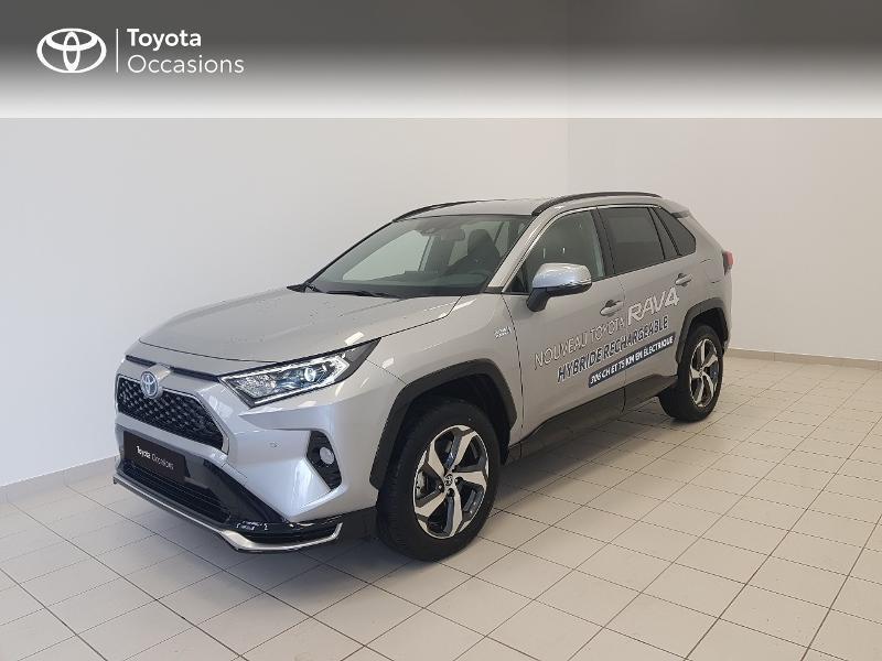Toyota RAV4 Hybride Rechargeable 306ch Design Business AWD Hybride GRIS ACIER Occasion à vendre