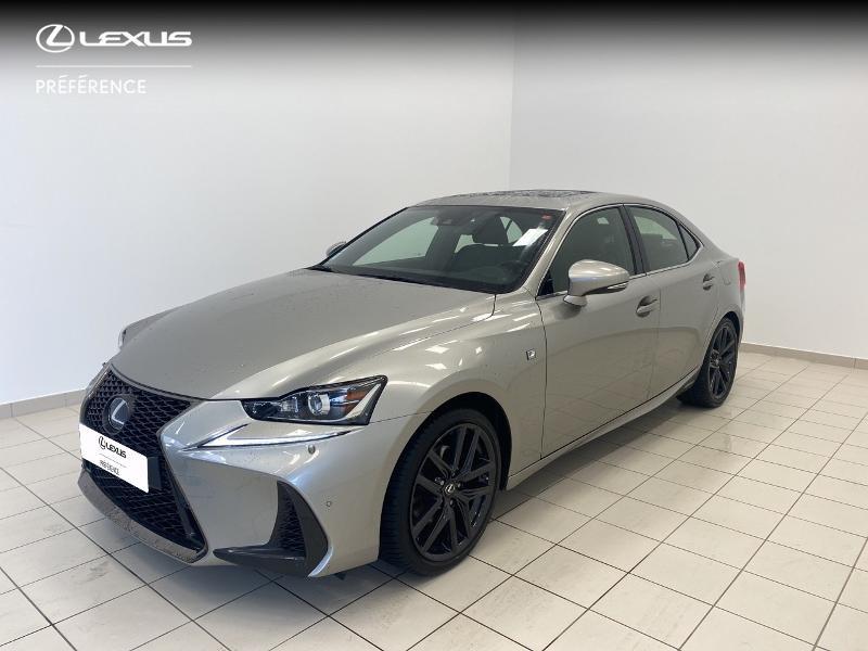 Lexus IS 300h F SPORT Hybride GRIS TITANE Occasion à vendre