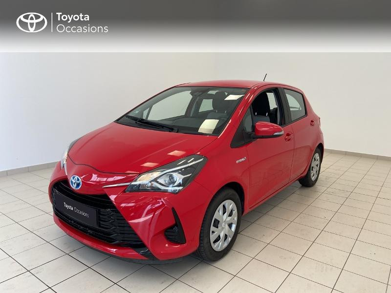 Toyota Yaris 100h France 5p MY19 Hybride ROUGE CHILIEN Occasion à vendre