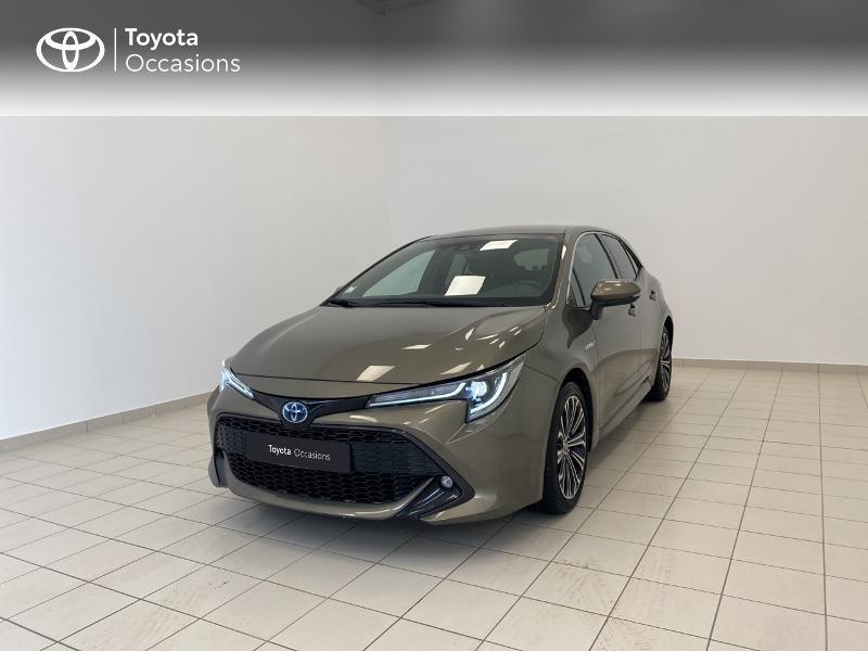 Toyota Corolla 122h Design MY20 Hybride Beige Métal Occasion à vendre