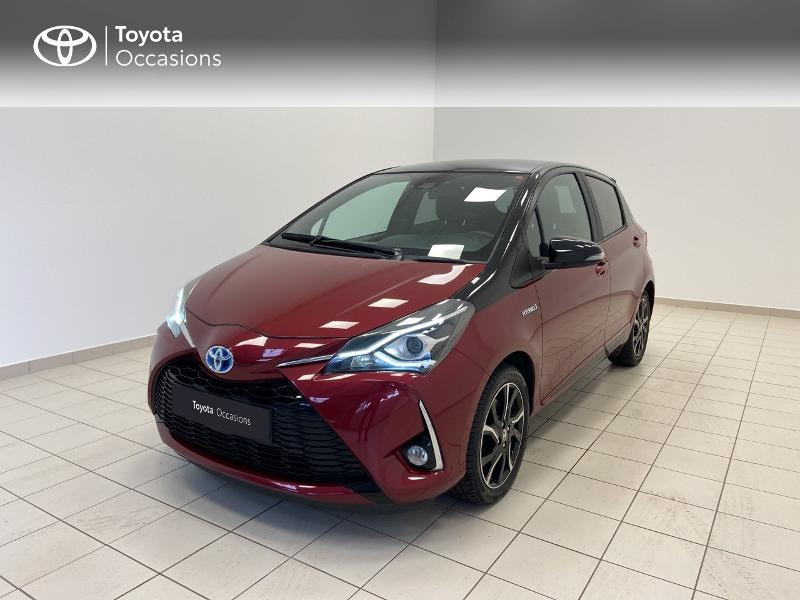 Toyota Yaris 100h Collection 5p RC18 Hybride Rouge Occasion à vendre
