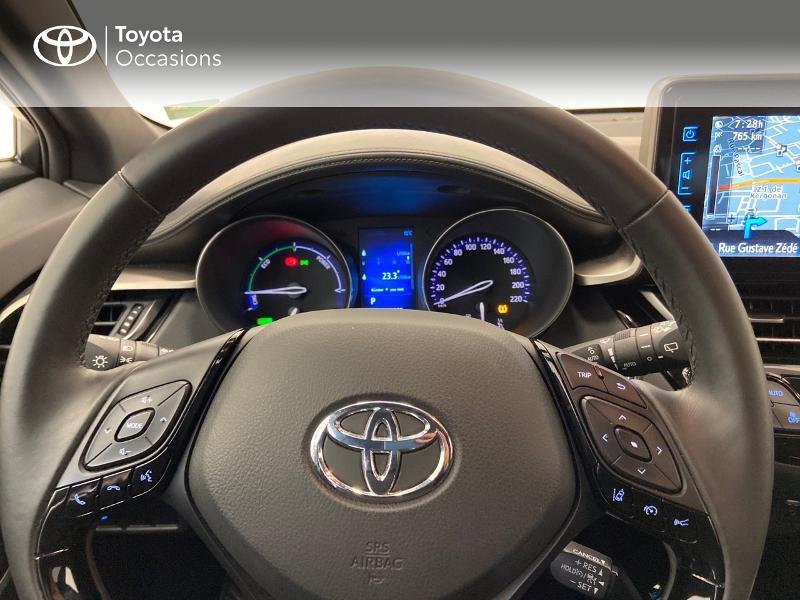 Photo 8 de l'offre de TOYOTA C-HR 122h Edition 2WD E-CVT à 21980€ chez Brest Automobiles - Toyota Brest