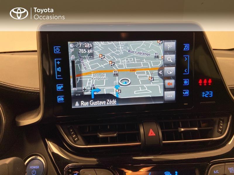Photo 7 de l'offre de TOYOTA C-HR 122h Edition 2WD E-CVT à 21980€ chez Brest Automobiles - Toyota Brest
