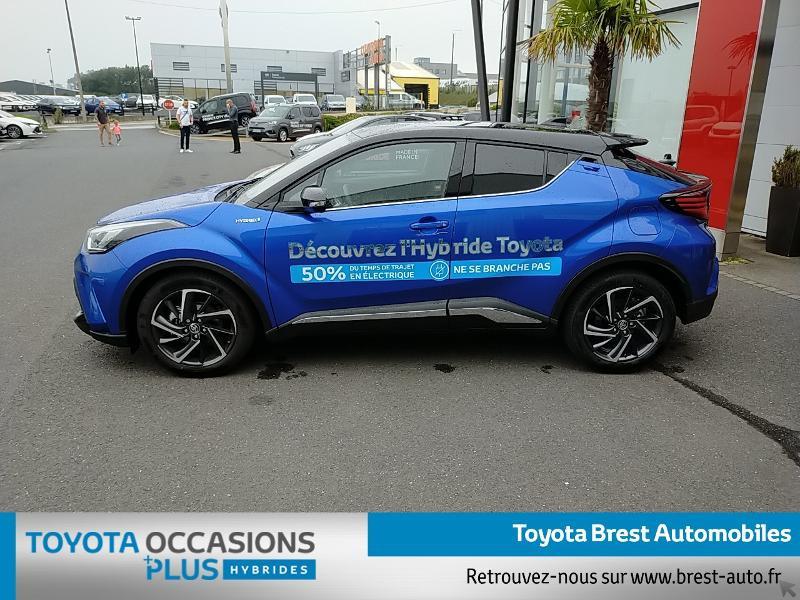 Photo 3 de l'offre de TOYOTA C-HR 122h Graphic 2WD E-CVT MY20 à 26980€ chez Brest Automobiles - Toyota Brest