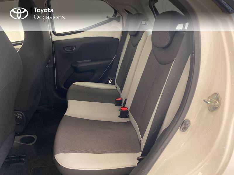 Photo 12 de l'offre de TOYOTA Aygo 1.0 VVT-i 69ch x-play 5p à 9480€ chez Brest Automobiles - Toyota Brest